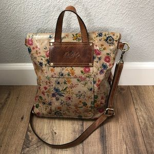 Patricia Nash Luzille Floral Leather 2 in 1 Purse